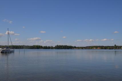 Schwielochsee mit Blick auf Goyatz (Foto: RPGLS)