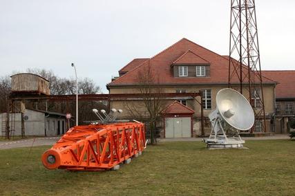 """Funkerberg Senderhaus I (Foto: """"FöV Sender Königs Wusterhausen""""e.V.)"""
