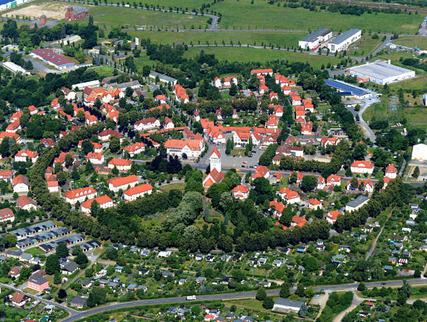 Luftbild Gartenstadt Marga (Foto: Peter Radke   LMBV)