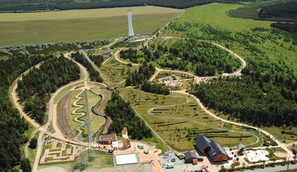 Luftbild Erlebnispark Teichland (Foto: urlaubsreich.de)